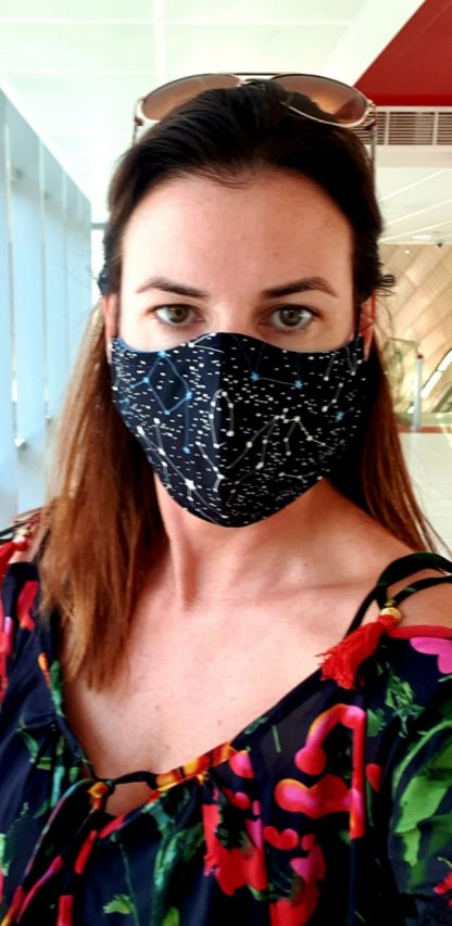 Woman fashion Fabric face Masks in Dubai