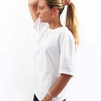 Andrew sustainable t-shirt white
