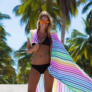 La Lucia Beach blanket towel mexico recycled cotton