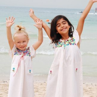 Refugio Mini Dress Fair trade fashion for children