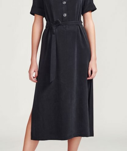 Uma dress Alayco Sustainable fashion cupro dress