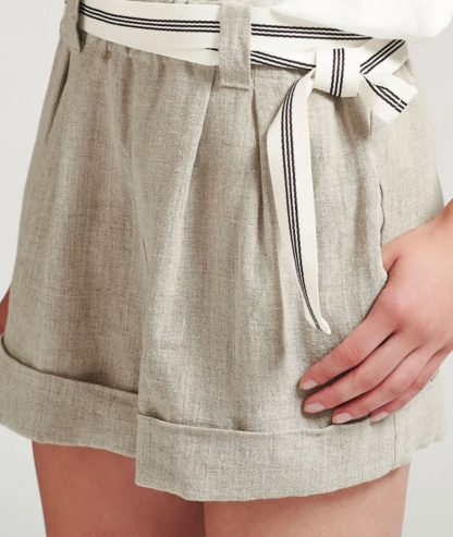Sustainable Linen Ana shorts