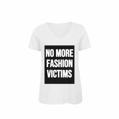 organic cotton t-shirt No more fashion Victims