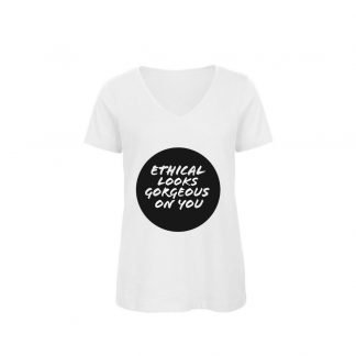 ETHICAL LOOKS GORGEOUS ON YOU ORGANIC COTTON TSHIRT