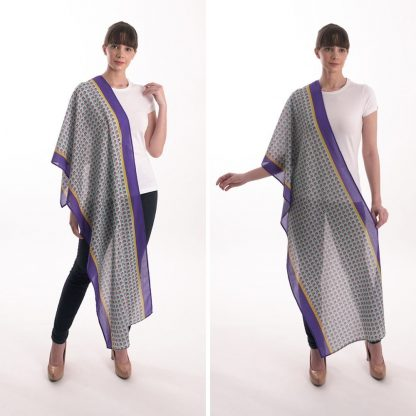 Organic Cotton scarves- Blumetry