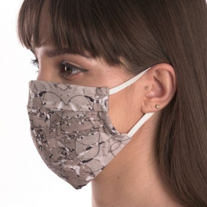 assorted set of 4 organic cotton face masks