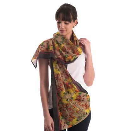 the stories organic cotton scarves