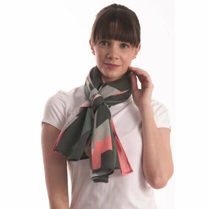 the perfect scarf in dubai- organic cotton Greeny scarf