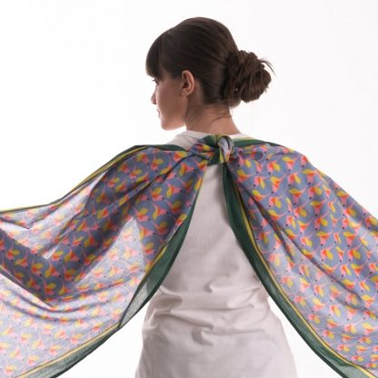 the perfect gift: The Fly-up Organic Cotton Scarf